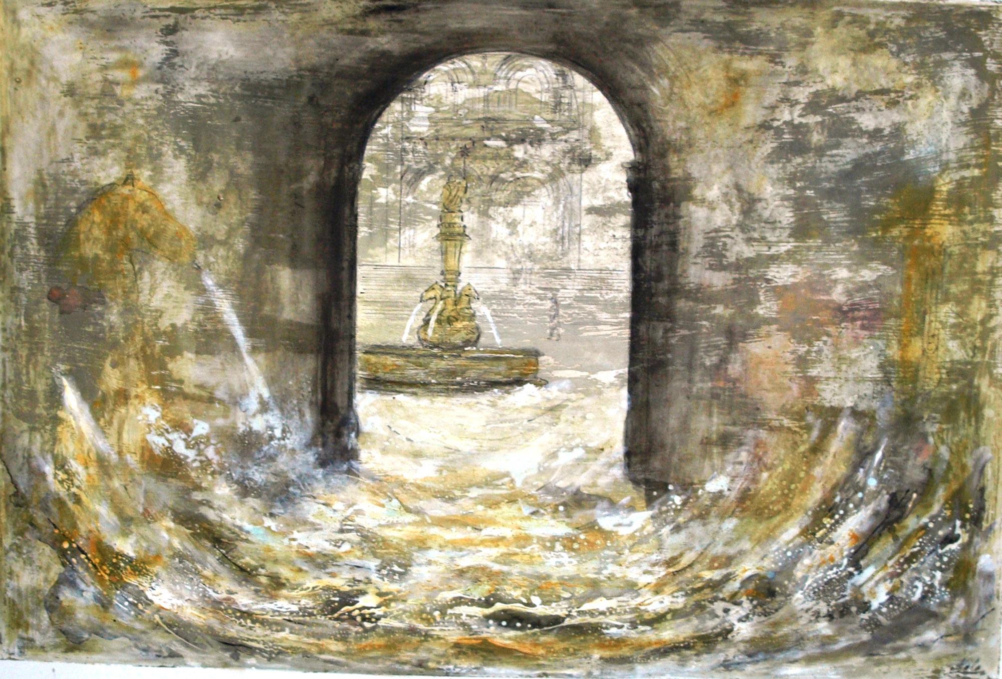 Compostela de auga e pedra